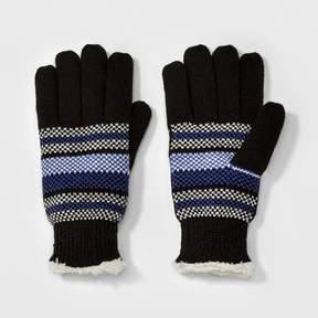 Isotoner Women's SmartDRI Stripped Knit Gloves