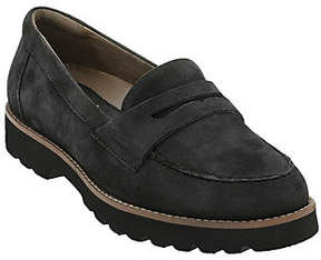 Earth Earthies Leather Slip-on Loafers - Braga