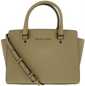 Michael Kors MICHAEL Selma Medium Satchel - CEMENT - STYLE