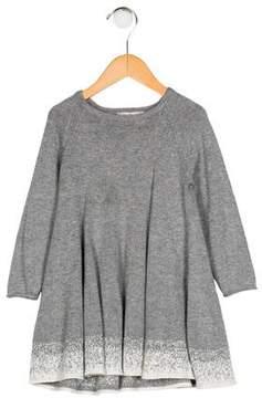 Lili Gaufrette Girls' Knit A-Line Dress