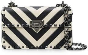 Valentino chevron pattern shoulder bag