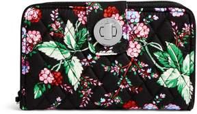 Vera Bradley RFID Turnlock Wallet - SANTIAGO - STYLE