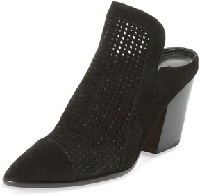 Sigerson Morrison Women's Marry Perforated Leather Mule