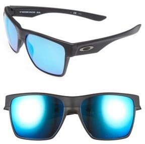 Oakley Men's Twoface Xl 59Mm Polarized Sunglasses - Black