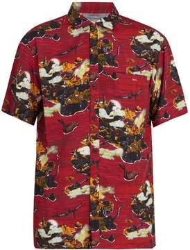 Lanvin Dinosaur-print hawaiian shirt