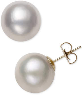 Belle de Mer Cultured Freshwater Pearl (12mm) Stud Earrings, Created for Macy's