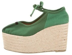 Sonia Rykiel Canvas Espadrille Wedges