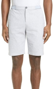 ATM Anthony Thomas Melillo Men's Elastic Waist Seersucker Shorts