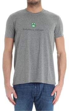 Aspesi Men's Grey Cotton T-shirt.