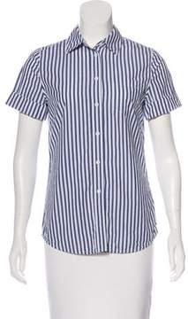 Adriano Goldschmied Striped Button-Up Top