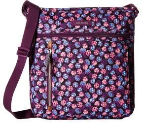 Vera Bradley Travel Ready Crossbody Cross Body Handbags - BERRY BURST - STYLE