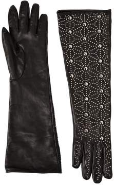 DSQUARED2 Studded Napa Leather Gloves