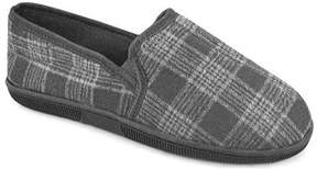 Muk Luks Men's Plaid Slip On