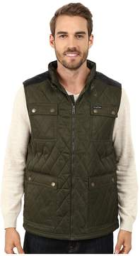 U.S. Polo Assn. Quilted Vest with PU Yoke Men's Vest