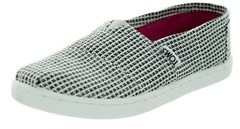 Toms Kids Classic Herringbone Casual Shoe.
