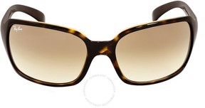Ray-Ban Light Brown Gradient Ladies Sunglasses