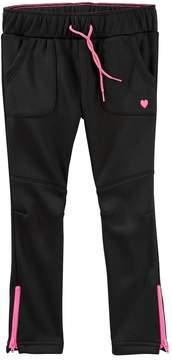 Osh Kosh Oshkosh Bgosh Toddler Girl Zip Ankle Tricot Jogger Pants