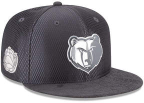New Era Memphis Grizzlies On-Court Graphite Collection 9FIFTY Snapback Cap