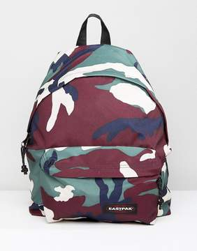 Eastpak Padded Pak'R Backpack in Camo 24L
