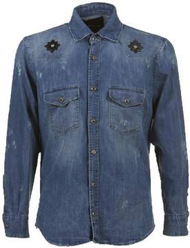 John Richmond Galistro Denim Shirt