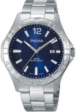 Pulsar Mens Stainless Steel Watch PH9077X
