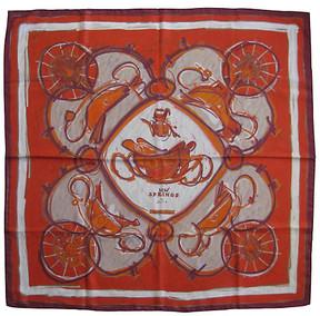 One Kings Lane Vintage HermAs New Springs Scarf - The Emporium Ltd.