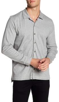 David Donahue Knit Regular Fit Shirt