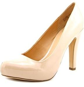 Material Girl Briele Women Open Toe Synthetic Platform Heel.