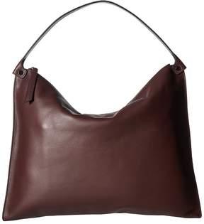 Ecco Sculptured Shoulder Bag Shoulder Handbags