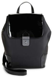 Hunter Patent Leather Backpack