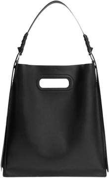 AllSaints Voltaire Leather Flat Hobo