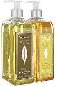 L'Occitane Super-Size Summer Verbena Shower Gel Duo