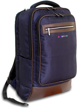 J World Navy & Brown Twill Backpack