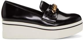 Stella McCartney Black Binx Chain Platform Loafers