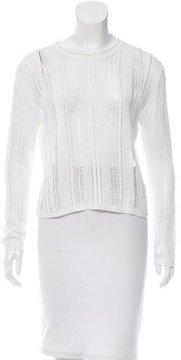 Edun Linen Open Knit Sweater