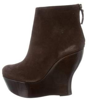 Alice + Olivia Wedge Ankle Boots