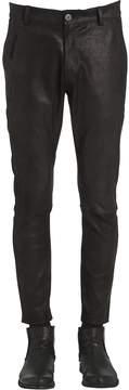 Isabel Benenato 17cm Slim Fit Soft Nappa Leather Pants
