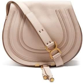 Chloé Marcie Medium Leather Cross Body Bag - Womens - Cream