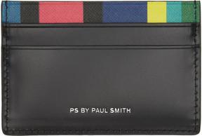 Paul Smith Black Stripe Card Holder