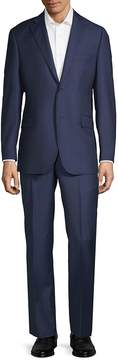 Saks Fifth Avenue BLACK Men's Multistripe Wool Suit