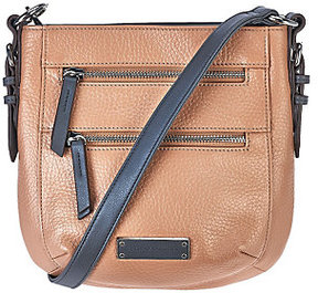 Tignanello As Is Pebble Leather RFID Crossbody Bag