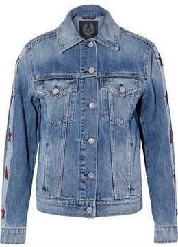 Belstaff Embroidered Denim Jacket