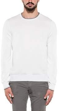 Fay Men's White Cotton Sweatshirt.