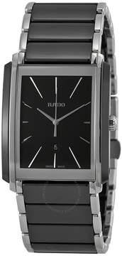 Rado Integral Black Dial Black Ceramic Men's Watch