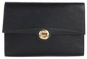 Louis Vuitton Epi Arche Clutch - BLACK - STYLE