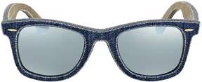 Ray-Ban Original Wayfarer Silver Flash Sunglasses RB2140 119430