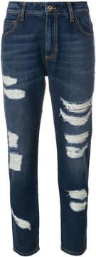 Blugirl distressed boyfriend jeans