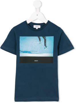 DKNY skate print T-shirt