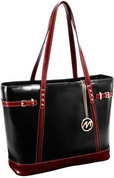 Mcklein McKleinUSA Serafina Leather Tote with Tablet Pocket