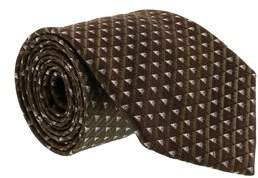 Gianfranco Ferre J092 U4j Brown Silk Mens Tie.